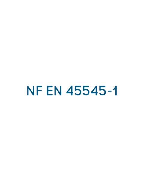 NF EN 45545
